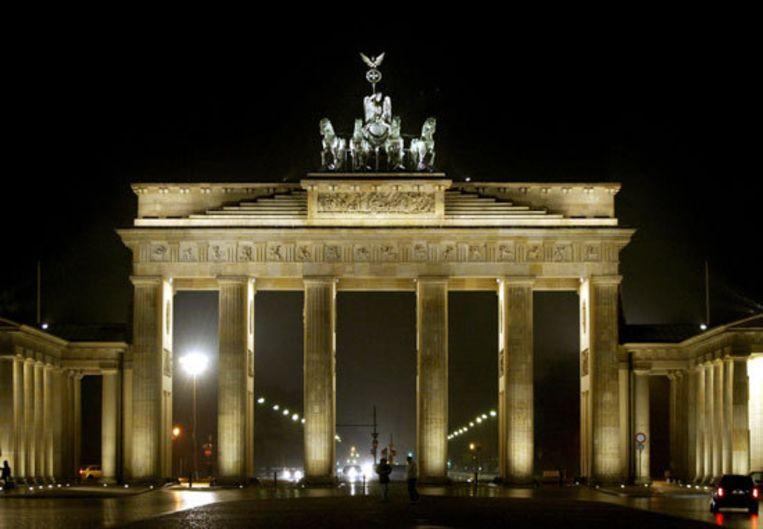 Bondskanselier Angela Merkel is tegen plannen van Barack Obama om een toespraak te houden voor de Brandenburger Tor in Berlijn. Foto ANP/Robin Utrecht Beeld