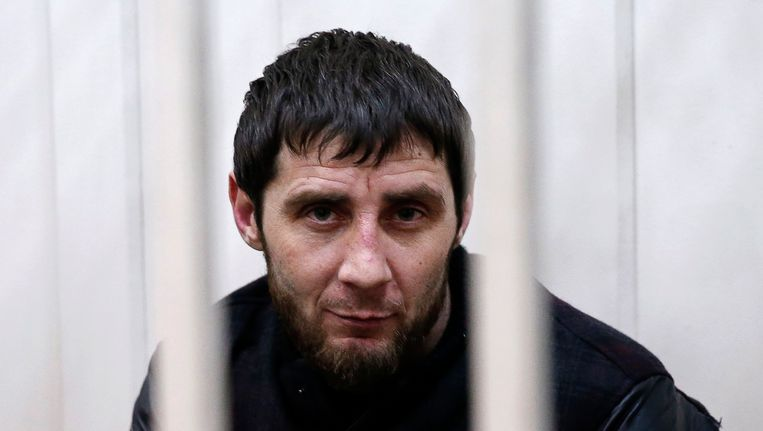 DZaoer Dadajev, hoofdverdachte van de moord op de oppositieleider Boris Nemtsov. Beeld reuters
