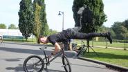 VIDEO. Voor het eerst Urban Village op Gordelfestival: BMX-kampioen Gilles toont alvast één van zijn tricks