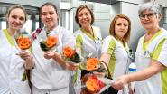 700 rozen uitgedeeld voor internationale vrouwendag