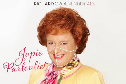 Richard Groenendijk als Jopie Parlevliet.