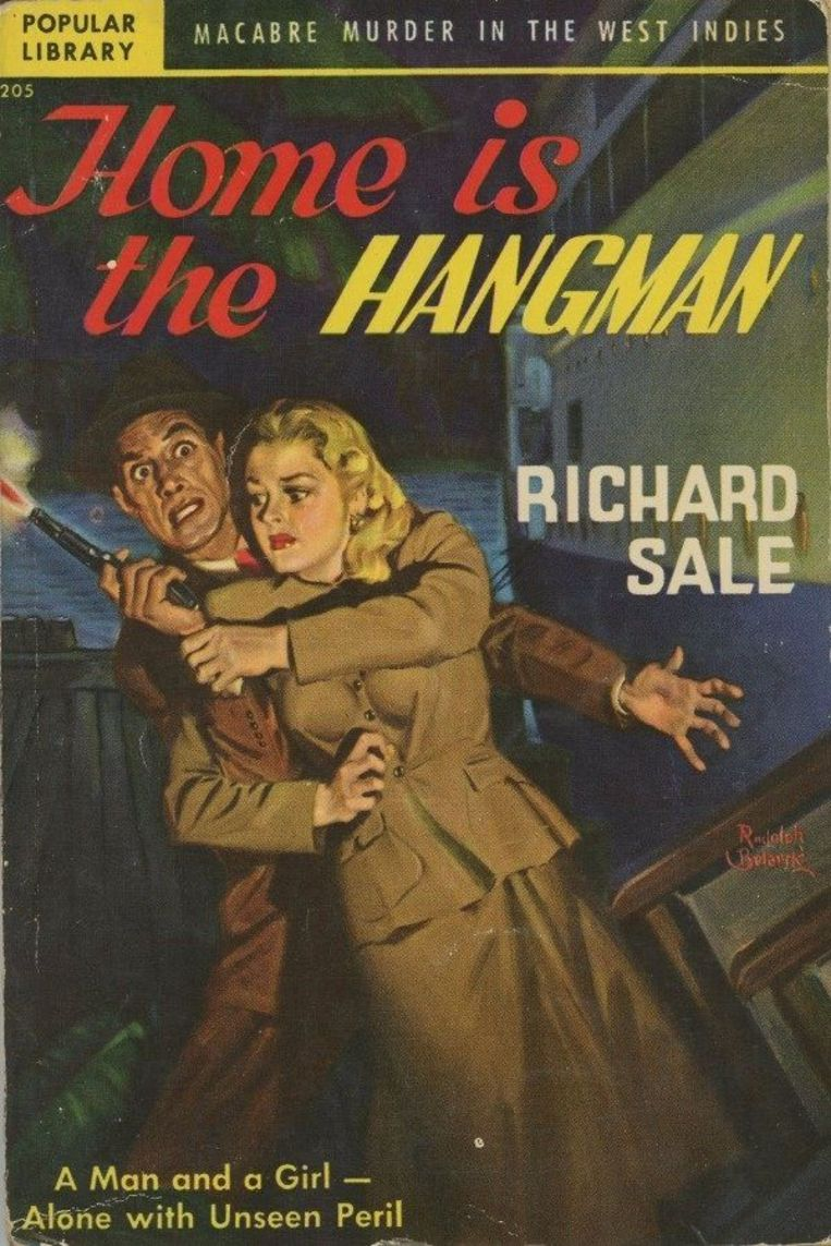 Omslag van Home is the hangman van Richard Sale. Beeld