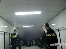Politie haalt feestende jongeren uit kleedkamer Veerse Poort in Middelburg