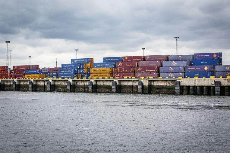 De haven van Zeebrugge. Beeld BELGA