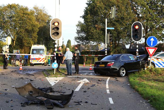 Het zoveelste ongeluk op de Bergmaas/Tweehekkenweg in Zeeland.