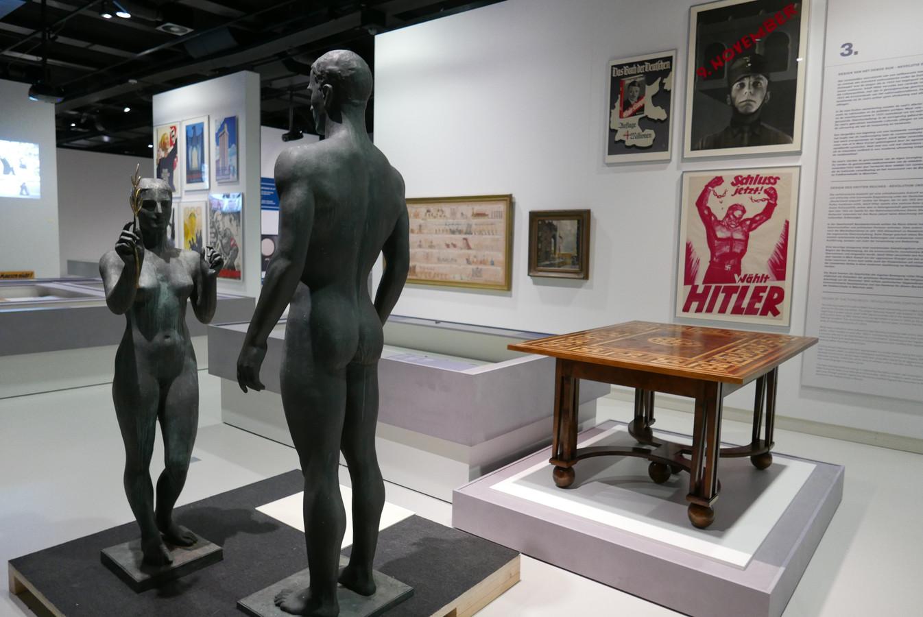 Beeld van de expositie Design van het Derde Rijk in Design Museum Den Bosch