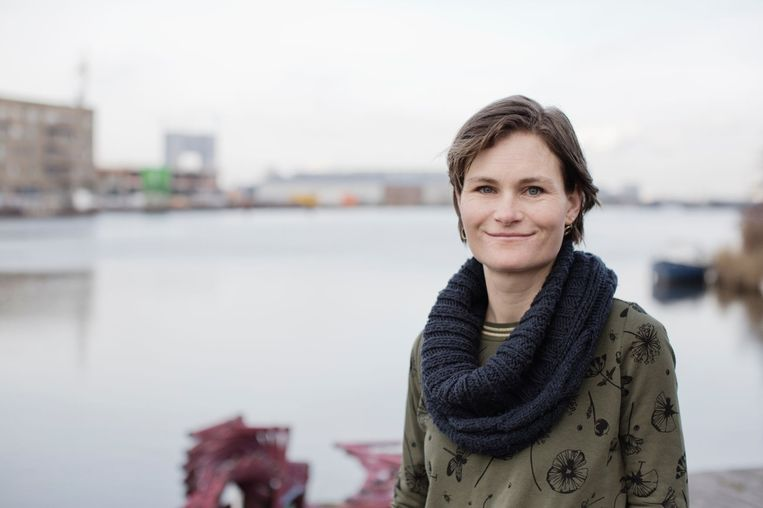 Marjolein Smeele, initiatiefneemster én toekomstige bewoner van Schoonschip Beeld Triodos