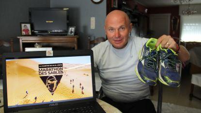 Chris loopt 250 kilometer door Sahara