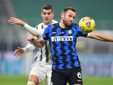 Vidal en Barella bezorgen Inter zege op Juventus in Derby d'Italia