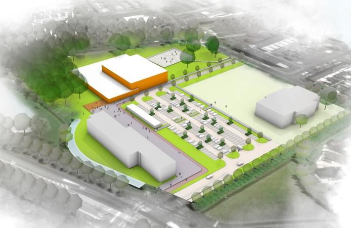 Model 1. Bron: Gemeente Breda