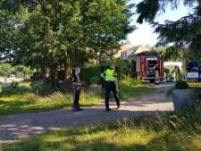Bewoners lopen brandwonden op bij palletbrand in Rhenen
