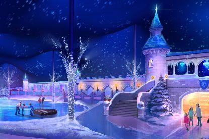 Winterse Efteling betovert met vernieuwd IJspaleis vol magie