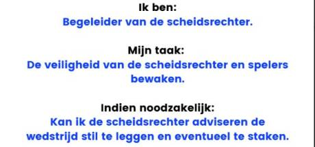 Jonge scheidsrechters krijgen in Tilburg steun van ouders