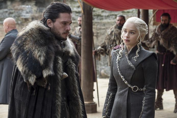 Beeld uit seizoen 7 van Game of Thrones