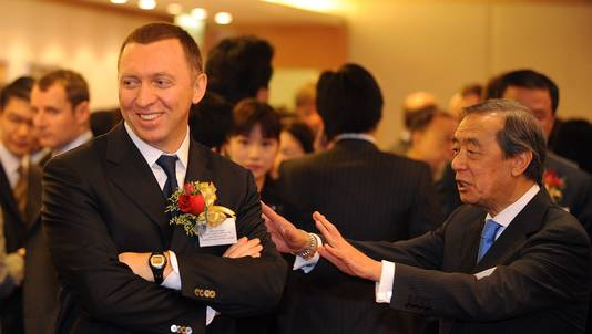 Image result for photos of Oleg V. Deripaska
