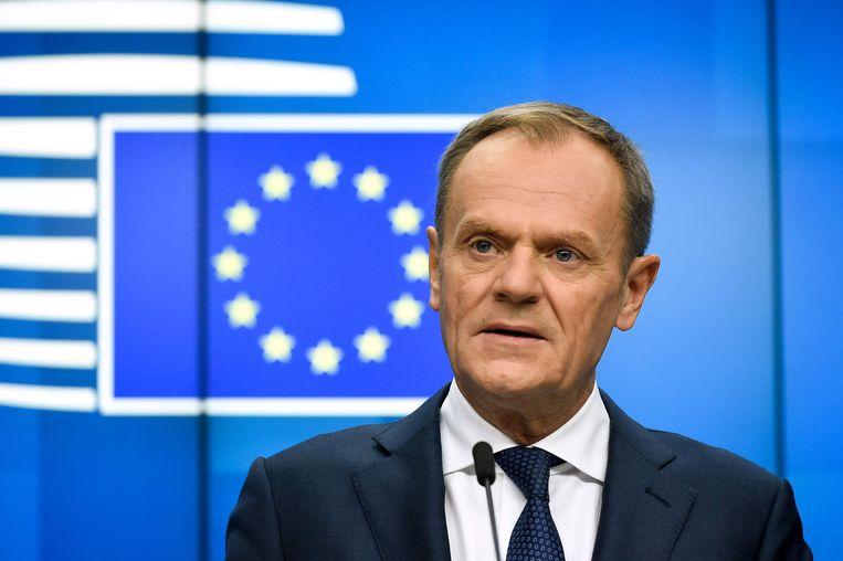 EU-president Donald Tusk Beeld AFP