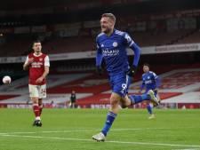 Invaller Vardy matchwinner tegen zijn favoriete tegenstander Arsenal