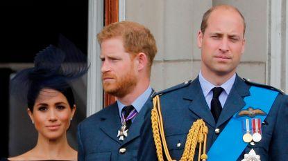 """Prins William spreekt voor het eerst na 'megxit': """"Ik heb altijd mijn arm om mijn broer heen geslagen. Triest dat dat niet meer kan"""""""