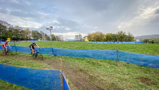 IN BEELD • De Koppenbergcross zonder publiek, dat ziet er zo uit