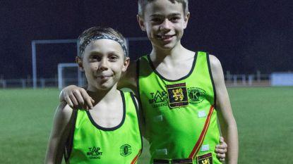 Mats en Jinze Belgisch kampioen veldlopen