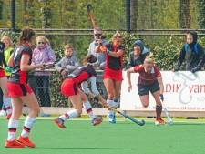 Hockeysters Union morsen punten in titelstrijd