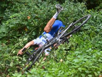 Zo leren de profs het: dit is hoe je moet vallen met een fiets