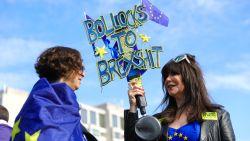 Tienduizenden Britten betogen in Londen voor nieuw brexitreferendum