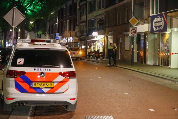 Steekpartij op de Kruisstraat in Eindhoven