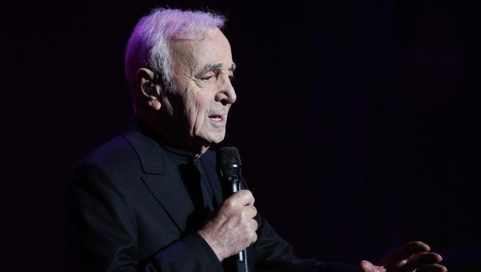 Zieke Charles Aznavour Zegt Concert Amsterdam Af Show Bdnl