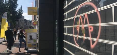 Onbekende graffiti-spuiter bekladt Dordrecht