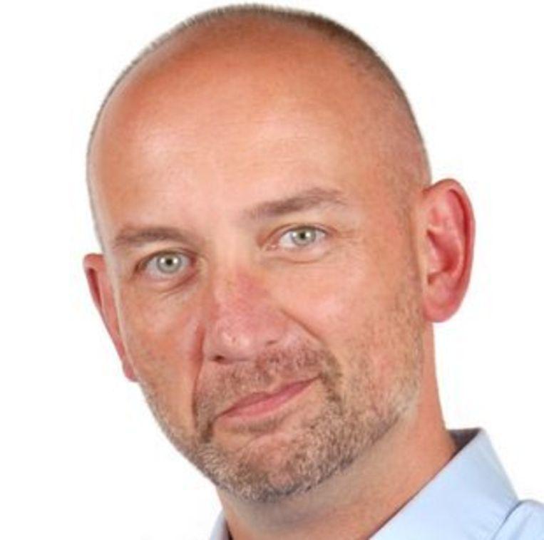 Bart Sturtewagen, opiniërend hoofdredacteur van De Standaard. Beeld null