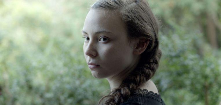 Lene Cecilia Sparrok in Sami Blood van Amanda Kernell. Beeld