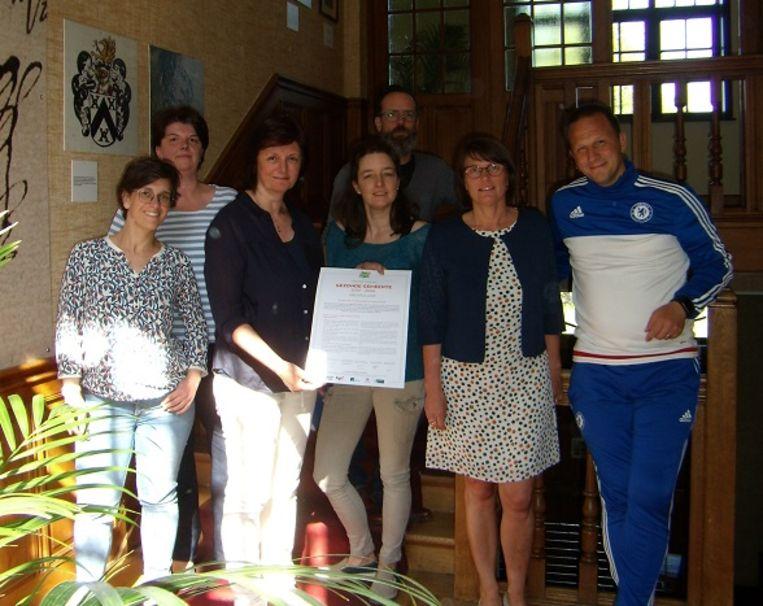 De gemeente Heuvelland ondertekende het charter Gezonde Gemeente