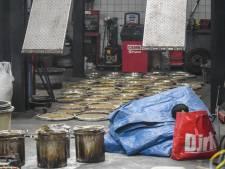Brandweer rukt uit voor brand maar treft drugslab aan verstopt in Rotterdamse garage