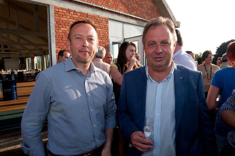 Kris Verwaeren (rechts) was 23 jaar lang in dienst bij DDS.