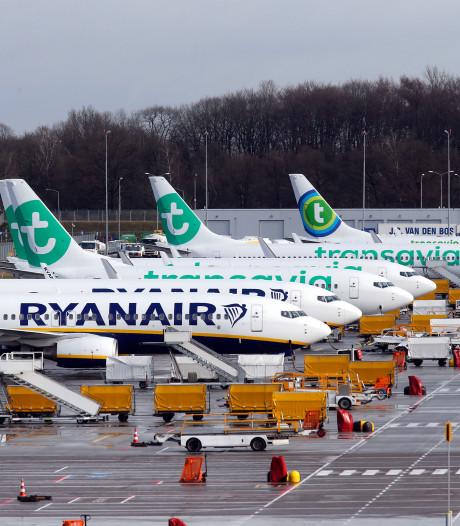 Oliedruk viel weg in motor van Boeing die onderweg was naar Eindhoven