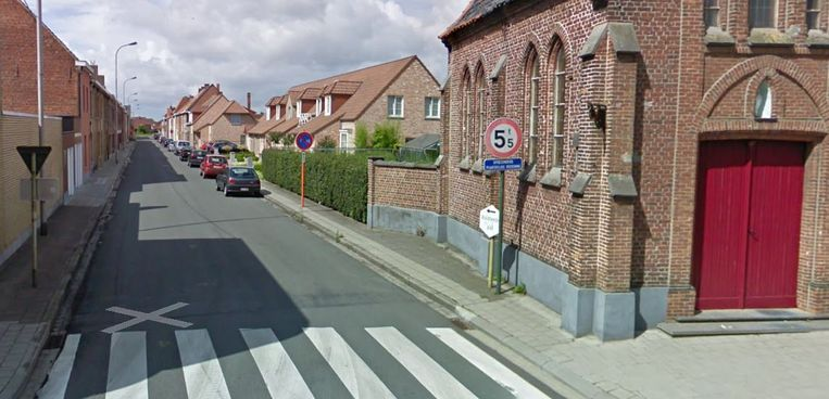 De Onze-Lieve-Vrouwstraat in Meulebeke.