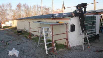 Nieuw dak voor FC Flora