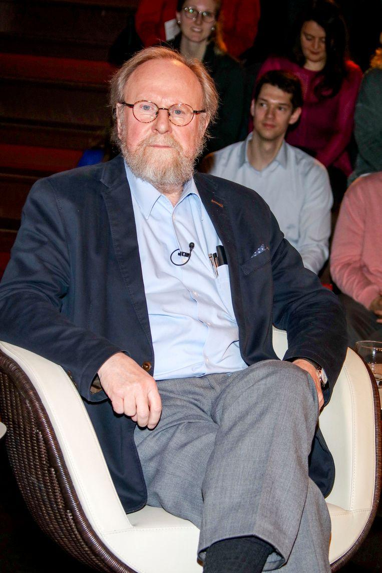 Wolfgang Thierse in Hamburg dit jaar.  Beeld Getty Images