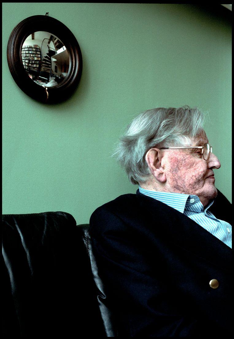 Kees Fens, 23 april 2008.  Beeld Martijn Beekman