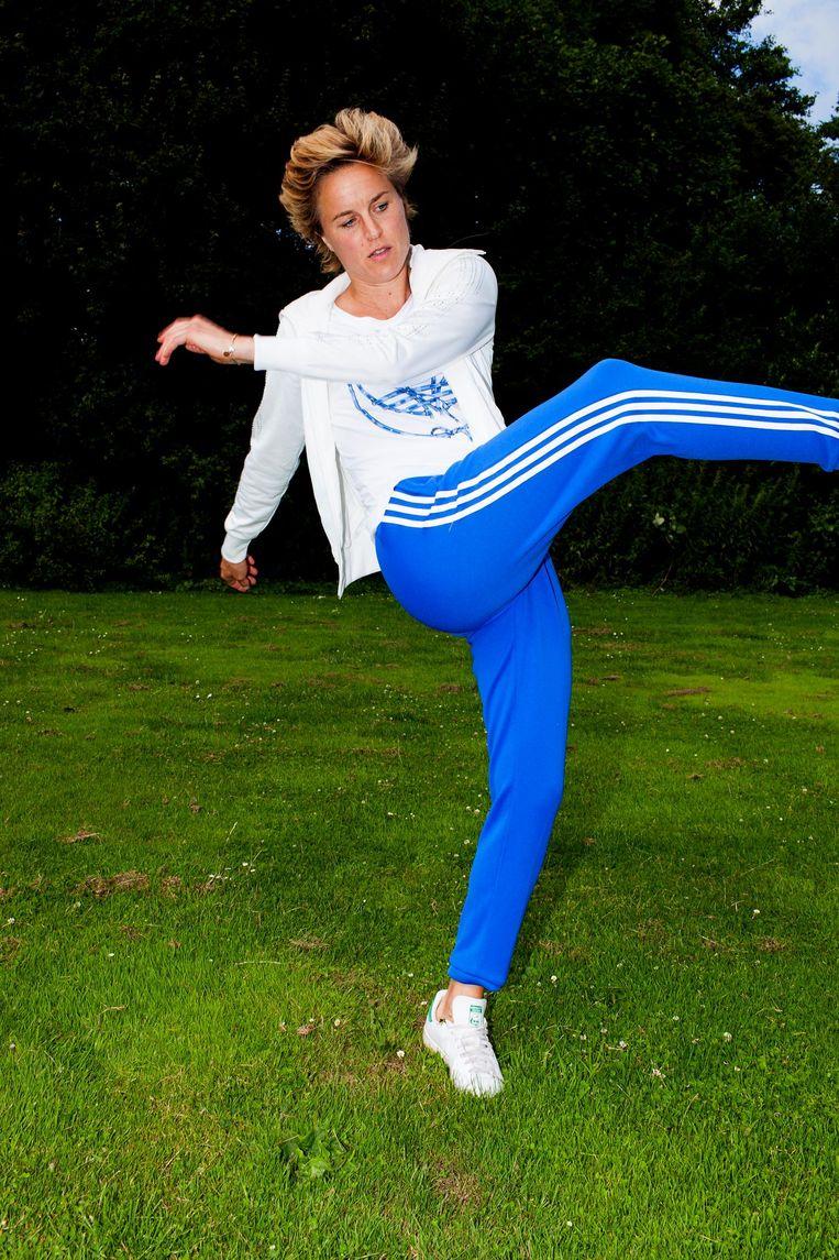 Daphne Koster: 'Er zijn coaches die zich graag omringen met ja-knikkers. Daar erger ik me aan' Beeld Renate Beense