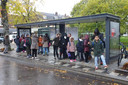 Klimaatvriendelijke bushalte aan het Willem van Noortplein.