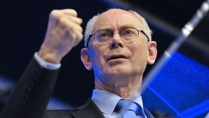 EU-president Herman van Rompuy.