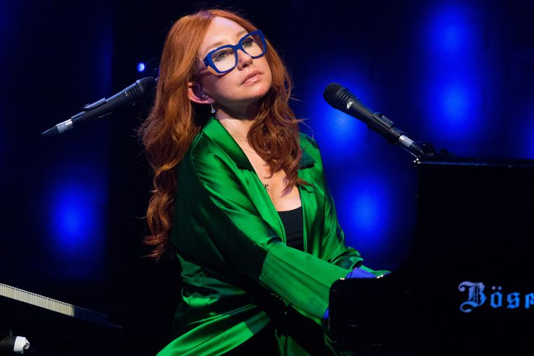 GLASGOW, UNITED KINGDOM - MAY 10: Tori Amos performs on stage at O2 Academy on May 10, 2014 in Glasgow, United Kingdom. (Photo by Ross Gilmore/Redferns via Getty Images) Beeld Ross Gilmore / Getty