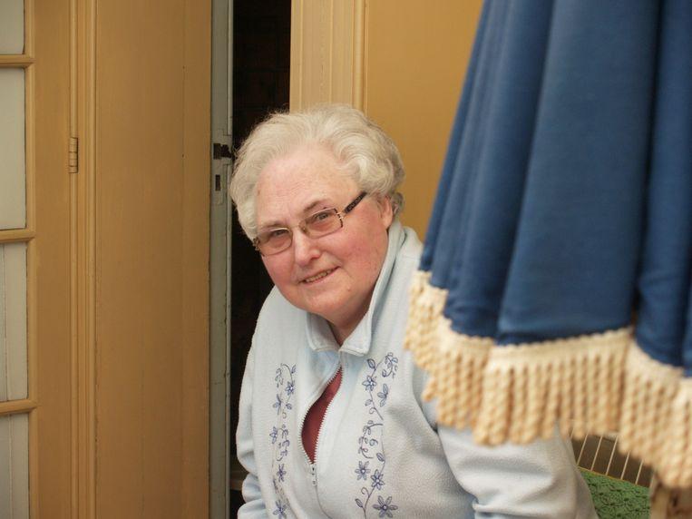 Het lichaam van Louisa D'Hertefelt (86) werd afgelopen nacht door reddingswerkers aangetroffen onder het puin aan het Ridderveld in Wilrijk.
