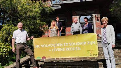 """Beersel start bannercampagne: """"Volhouden en solidair zijn tijdens coronacrisis"""""""