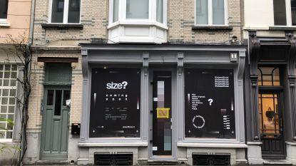 Bekende sneakerwinkel size? komt naar België