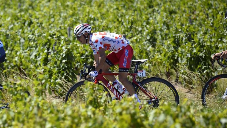 Joaquim Rodriguez tijdens de twaalde etappe Beeld null
