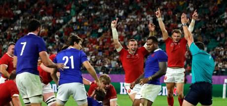 Rood Vahaamahina kost rugbyers Frankrijk de kop in kwartfinale WK