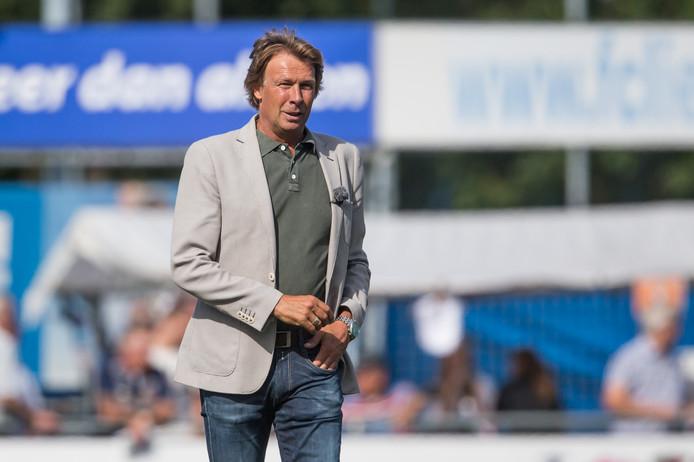 FC Lienden-trainer Hans Kraay jr zag zijn team nipt gelijkspelen. Archieffoto